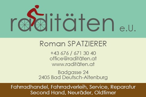Bikeshop Radiäten2405 Bad Deutsch-Altenburg