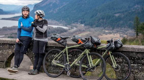 Bikepacking mit Ortlieb
