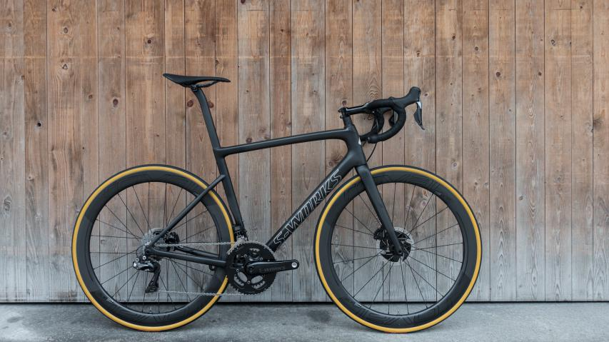 Specialized S-Works Tarmac Disc + Power Crank