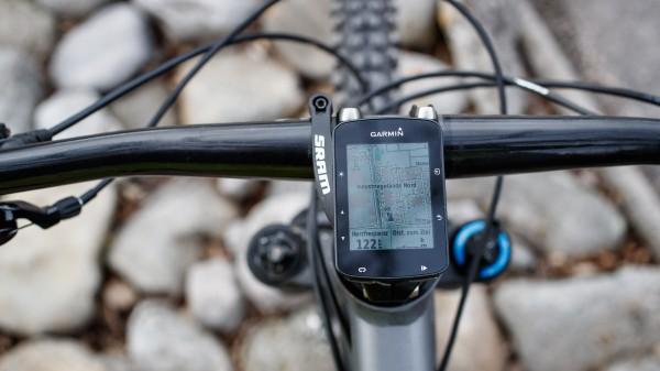 Navigation und Karten am Garmin Edge 520 Plus