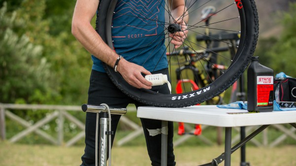 Tubeless Setup mit Yanick The Mechanic