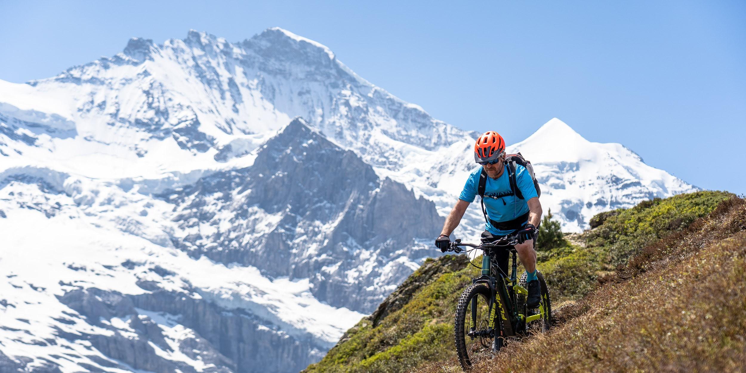 E-Biken in der Jungfrau Region