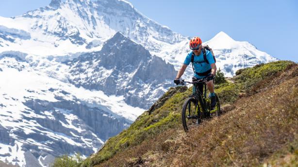 E-Biken in der Jungfrau RegionFlyer lud zur Rundtour in die Schweizer Alpen - und jede Menge Kühe, Filmhelden und Asiaten kamen mit.