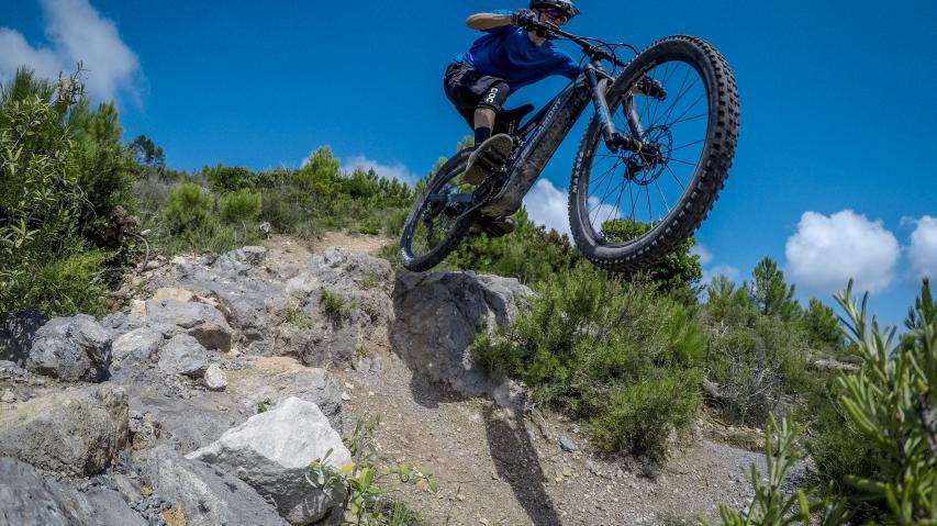 """Bergamont E-Trailster Expert 29Der Name ist Programm: Bergamont nimmt elektrifiziert die Trails unter die 29""""-Räder, mit 160 mm Federweg vorne und 145 mm hinten. Ab zum Härtetest."""