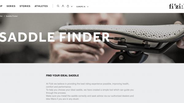 Fizik Saddle Finder