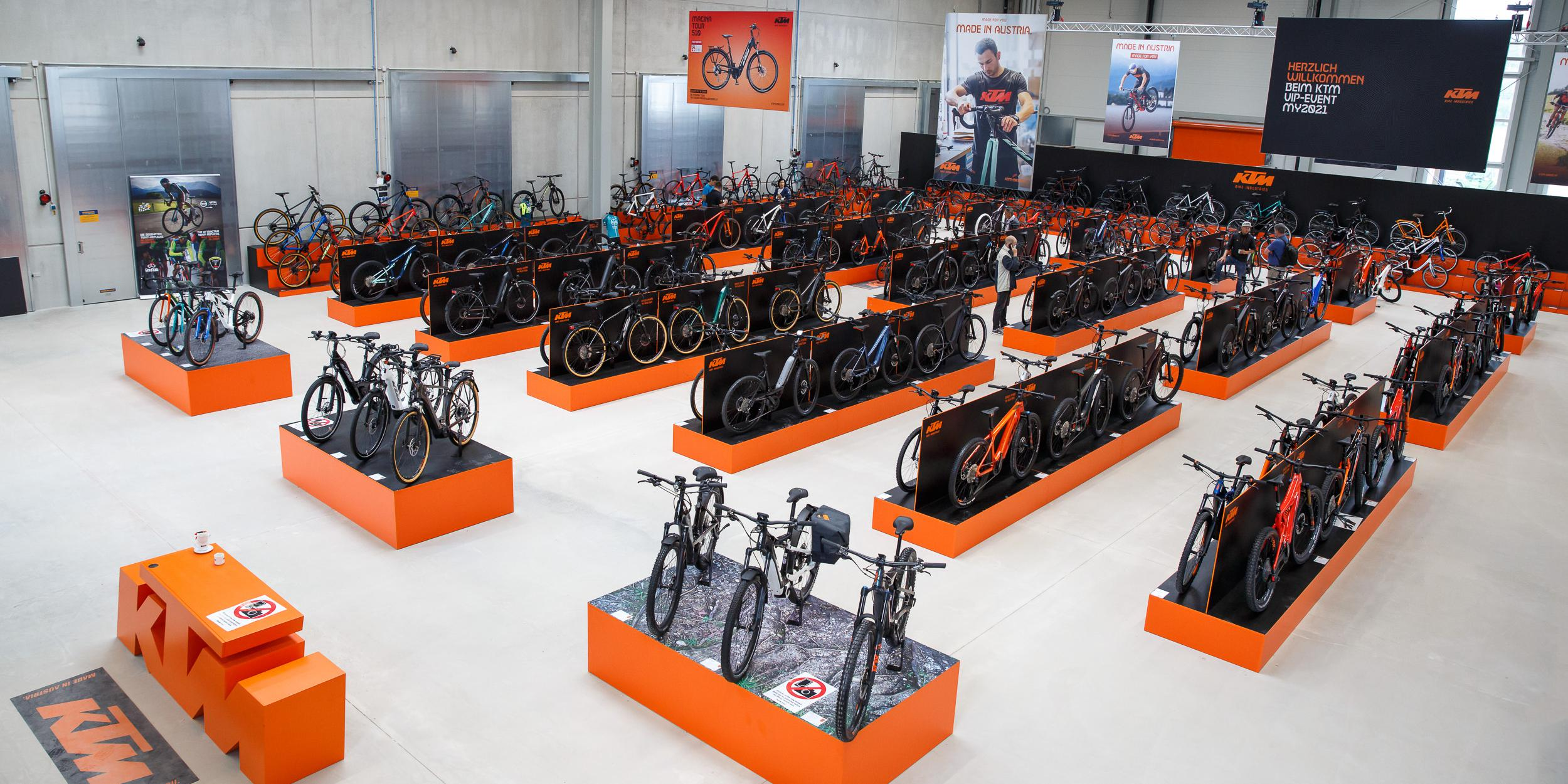 KTM Fahrrad Neuheiten 2021