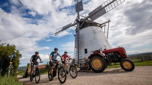 Genuss-Radtouren im Weinviertel
