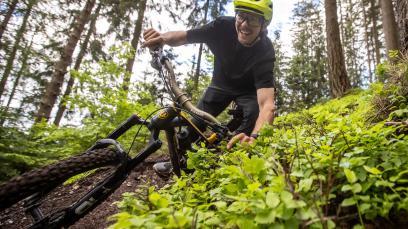 Lokalaugenschein: SchweizUNeben Trail Bruck/MurStadtgemeinde Bruck/Mur trifft auf Do-Biker - heraus kommt einer der wohl feinsten legalen Trails der Steiermark. Wir waren zu Besuch im Brucker Weitental.