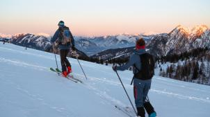 Wintertraining am Fuschlsee
