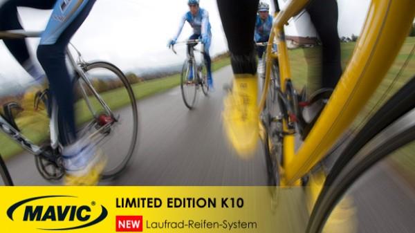 Mavic K10 Laufrad-Reifen-System