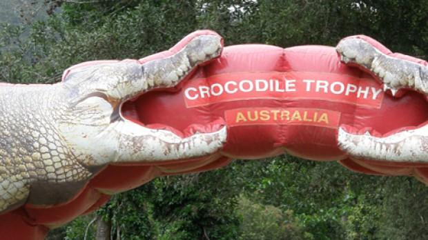 Crocodile Trophy 2010Turbulenter Beginn des zehntägigen MTB-Etappenrennens in Australien