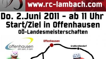 Einzelzeitfahren durch das Grünbachtal 2011