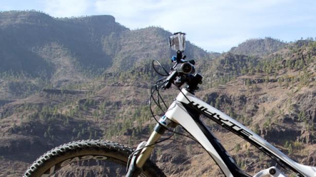 GoPro HD Hero 2Ein Vergleichstest zwischen der alten und neuen GoPro auf den felsigen Singletrails Gran Canarias.