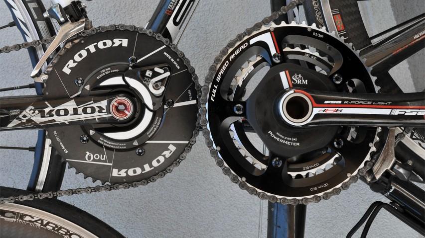 Power2Max vs. SRM im TrainingsalltagVor- und Nachteile beider Systeme anhand einer Rotor 3D+ mit Power2Max und der FSA K-Force Light BB386Evo mit SRM.