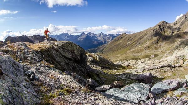 Mountainbiken in Ischgl