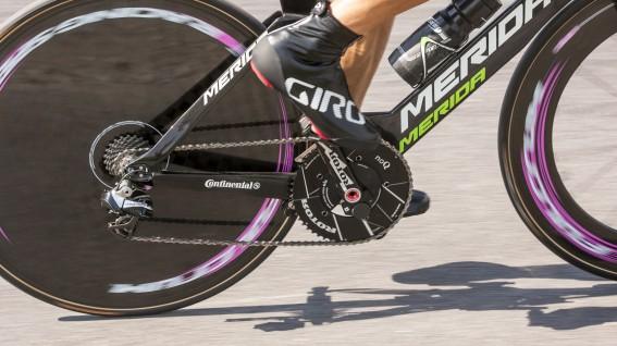 ROTOR POWERDas Leistungsmesser-Topmodell der Spanier gab sich im Bikeboard-Test die Ehre.