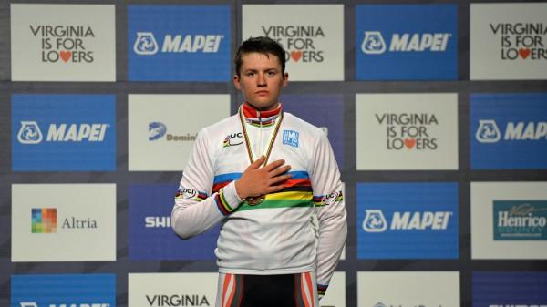 Gold bei Rad-WM