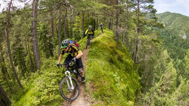 Biken am Klopeiner See