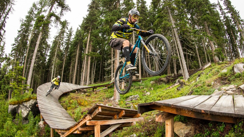 Bike Trails in Sölden Part II